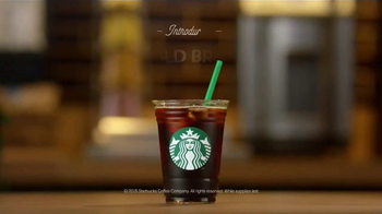 Starbucks Cold Brew Coffee TV Spot, 'The Sounds of Coffee' - Thumbnail 6