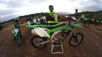 Kawasaki TV Spot, 'Team Green: A Legacy of Champions' Feat. Jeremy McGrath