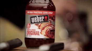 Weber Sweet & Thick Original BBQ Sauce TV Spot, 'Flavorful Adventure' - Thumbnail 7