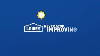 Lowe's Memorial Day Savings TV Spot, 'Grills and Furniture' - Thumbnail 10
