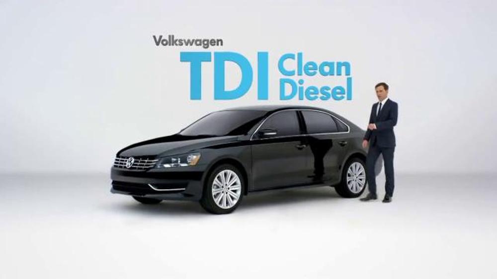 Vw Clean Diesel >> 2015 Volkswagen Passat Tdi Clean Diesel Tv Commercial Diesel Cars Video