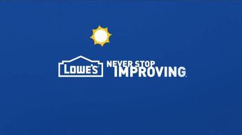 Lowe's Memorial Day Savings TV Spot, 'Decking and Resurfacers' - Thumbnail 10
