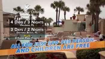 Summer Bay Orlando TV Spot, 'Family Fun'