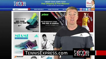 Tennis Express TV Spot, 'Tennis and More' Featuring Brad Blume
