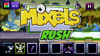 Mixels Rush App TV Spot, 'Save the Mixels'