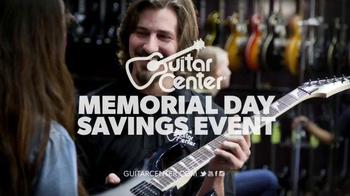 Guitar Center Memorial Day Savings Event TV Spot, 'Guitars and Stands' - Thumbnail 8