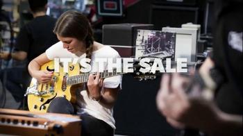 Guitar Center Memorial Day Savings Event TV Spot, 'Guitars and Stands' - Thumbnail 2