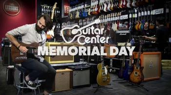 Guitar Center Memorial Day Savings Event TV Spot, 'Guitars and Stands' - Thumbnail 4