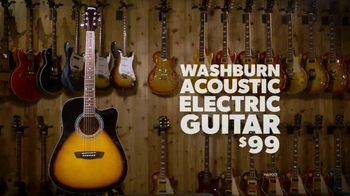 Guitar Center Memorial Day Savings Event TV Spot, 'Guitars and Stands' - Thumbnail 5