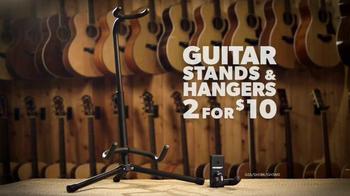 Guitar Center Memorial Day Savings Event TV Spot, 'Guitars and Stands' - Thumbnail 6