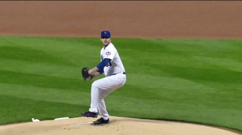 Major League Baseball TV Spot, '#THIS: Throw the Pitch' Feat. Matt Harvey - Thumbnail 5