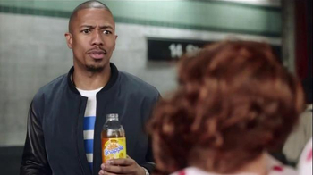 Snapple TV Spot, 'The Ventriloquist' Featuring Nick Cannon - Thumbnail 7
