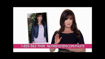 Nutrisystem TV Spot, 'Help' Featuring Marie Osmond - 261 commercial airings