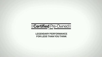 BMW Certified Pre-Owned Event TV Spot, 'Protected' - Thumbnail 9