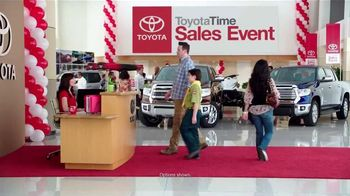 2015 Toyota Tundra TV Spot, 'Toyota Time Sales Event: Deep Sea Fishing' - 42 commercial airings