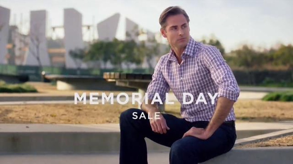 e52f72dc735b Men s Wearhouse Memorial Day Sale TV Commercial