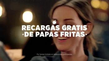 Applebee's Handhelds TV Spot, 'Recargas Gratis de Papas Fritas' [Spanish] - Thumbnail 5