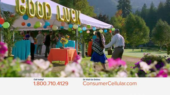 Consumer Cellular TV Spot, 'Connie and Jack are Back at Clyde's Party: Plans $10+ a Month' - Thumbnail 1