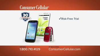 Consumer Cellular TV Spot, 'Connie and Jack are Back at Clyde's Party: Plans $10+ a Month' - Thumbnail 8