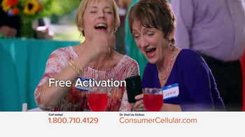 Consumer Cellular TV Spot, 'Connie and Jack are Back at Clyde's Party: Plans $10+ a Month' - Thumbnail 5