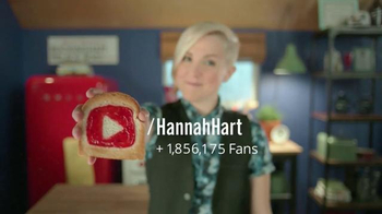 YouTube TV Spot, 'You Make Happy from Scratch' Featuring Hannah Hart - 7 commercial airings
