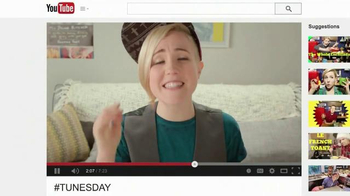 YouTube TV Spot, 'You Make Happy from Scratch' Featuring Hannah Hart - Thumbnail 5
