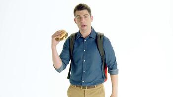 McDonald's Sirloin Third Pound Burger TV Spot, 'Slacks' Ft. Max Greenfield - Thumbnail 3