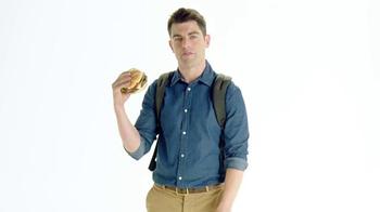 McDonald's Sirloin Third Pound Burger TV Spot, 'Slacks' Ft. Max Greenfield - Thumbnail 4