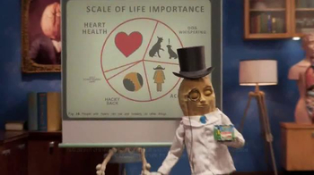 Planters NUT-rition Heart Health Mix TV Spot, 'Skeleton' - Thumbnail 5