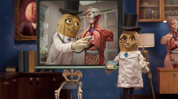 Planters NUT-rition Heart Health Mix TV Spot, 'Skeleton' - Thumbnail 6