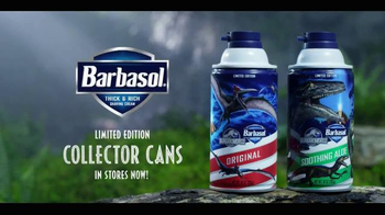 Barbasol Collector Cans TV Spot, 'Jurassic World' - Thumbnail 4