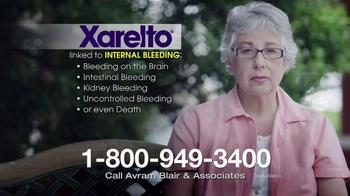 Avram Blair & Associates TV Spot, 'Xarelto' - Thumbnail 2