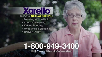 Avram Blair & Associates TV Spot, 'Xarelto'