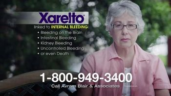 Avram Blair & Associates TV Spot, 'Xarelto'