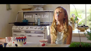 Chobani TV Spot, 'To Love This Life is to Live It Naturally: Kids' - 613 commercial airings