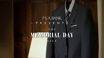 JoS. A. Bank Memorial Day Sale TV Spot, \'Suits and Traveler Shirts\'