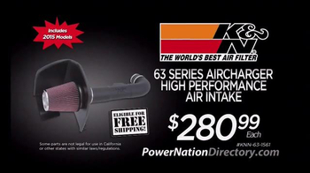 PowerNation Directory TV Spot, 'Fuel Injection Harnesses and More'