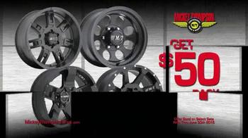 Mickey Thompson Performance Tires & Wheels TV Spot, 'Get 50 Back' - Thumbnail 3