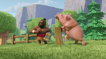 Clash of Clans TV Spot, 'Ride of the Hog Riders: Call in the Cavalry' - Thumbnail 4
