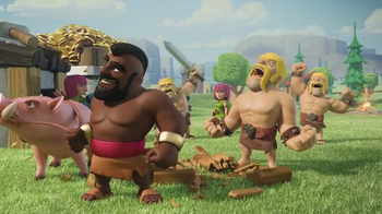 Clash of Clans TV Spot, 'Ride of the Hog Riders: Call in the Cavalry' - Thumbnail 7