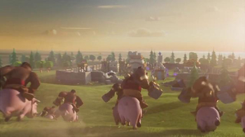 Clash of Clans TV Spot, 'Ride of the Hog Riders: Call in the Cavalry' - Thumbnail 9