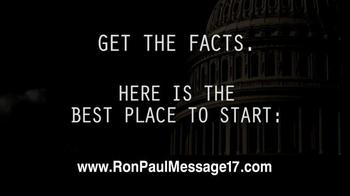 Ron Paul Message TV Spot, 'Free Video' - Thumbnail 7