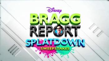 Disney Bragg Report Splatdown Sweepstakes TV Spot