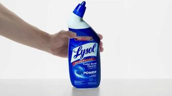 Lysol Power Toilet Bowl Cleaner TV Spot, 'Mineral Buildup' - Thumbnail 4