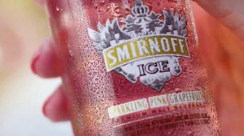 Smirnoff Ice Sparkling Pink Grapefruit TV Spot, 'Just for Summer' - Thumbnail 4