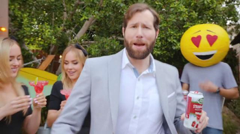 Bud Light Lime Straw-Ber-Rita TV Spot, 'Emoji Party' - Thumbnail 3