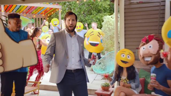 Bud Light Lime Straw-Ber-Rita TV Spot, 'Emoji Party' - Thumbnail 6