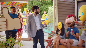 Bud Light Lime Straw-Ber-Rita TV Spot, 'Emoji Party' - Thumbnail 7