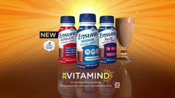 Ensure TV Spot, 'The Sunshine Vitamin' - Thumbnail 8