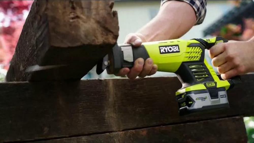Ryobi TV Commercial, 'Home Depot Ryobi Days: Get Your Hands On Ryobi'